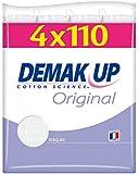 Demak'up 4 Sachets de 110 Disques de Cotons à Démaquiller Original