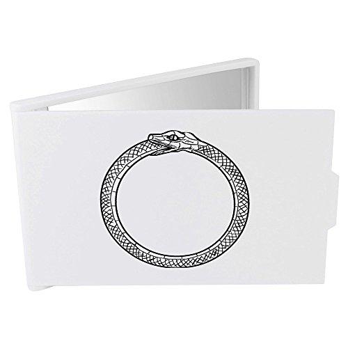 'Schlange Essen Schwanz (Ouroboros)' Taschenspiegel / Kosmetikspiegel (CM00000281) Schlange Essen Schwanz