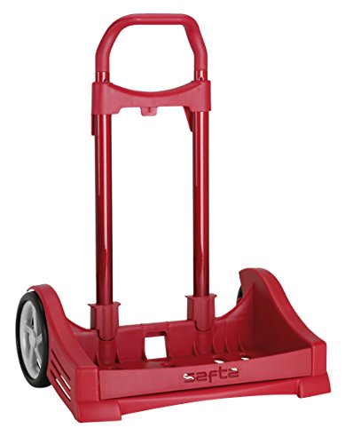 Safta Carrello portavaligie, rosso (rosso) - 077546