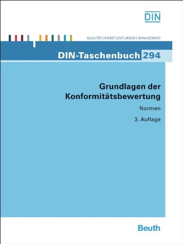 Grundlagen der Konformitätsbewertung (DIN-Taschenbuch)