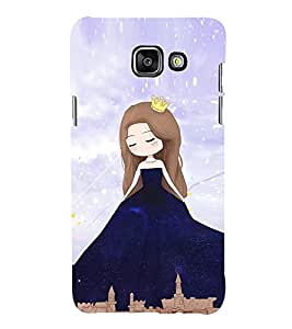Cute Princess 3D Hard Polycarbonate Designer Back Case Cover for Samsung Galaxy A5 (2016) :: Samsung Galaxy A5 2016 Duos :: Samsung Galaxy A5 2016 A510F A510M A510FD A5100 A510Y :: Samsung Galaxy A5 A510 2016 Edition