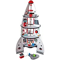 Hape HAP-E3021 Four-Stage Rocket Ship Playset