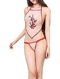 Pijama de la tentación de la ropa interior de las señoras, ropa interior atractiva de