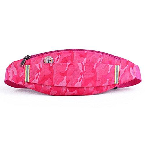 BUSL Wandern Hüfttaschen im Freien Frau männlichen Sports Musik-Handy-Paket läuft Anti-Diebstahl unsichtbare Taschen Einbeziehung g