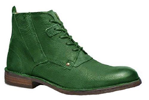 Chaussures bottines model HARRY en cuir par HGilliane Design Eu 33 au 46 green