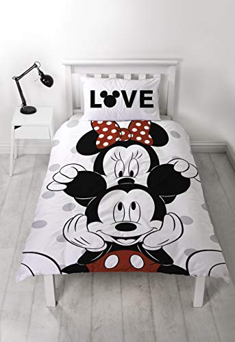 Disney Mickey & Minnie Mouse - Funda edredón Cama