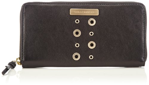 BOSS Orange Airin-E 50266336 Damen Geldbörsen 19x10x2 cm (B x H x T), Schwarz (Black 001) (Tasche Boss Orange)
