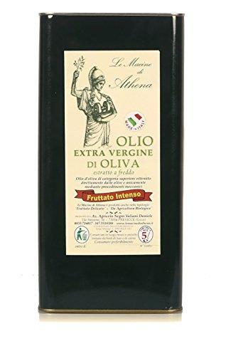Italienishen Natives Olivenöl Extra von Le Macine di Athena - Intensiv Fruchtig - 1er Pack (1 x 5 l)