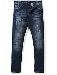 883 POLICE Laker 302 Slim Fit Faded Wash Jeans