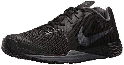 Nike , Herren Sneaker Schwarz / Grau
