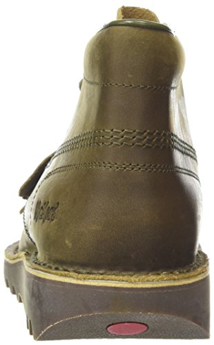 Kickers Kick Hi Lthr Am, Stivali Uomo Marrone (Khaki)