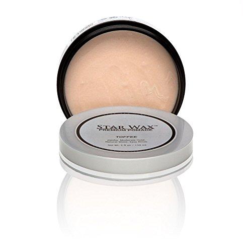 Star Wax | Premium Pomade, Toffee, by Star Pro Line - 5 fl oz / 150 mL