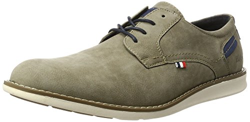 Bm Footwear 2713805, Derby homme Braun (Mud)
