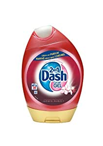 Dash - 81146488 - Lessive en Gel Rubis / Jasmin - 20 Doses - 3 Boîtes (60 Doses)