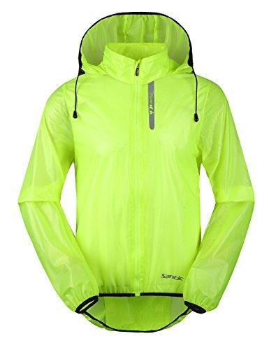 Santic Herren Outdoor Sport MTB Fahrrad Jacke Quick Dry Haut Fell XXL grün - grün