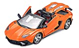 #5: Zitto Rechargeable Remote Control Sports Car with Opening Doors, Orange