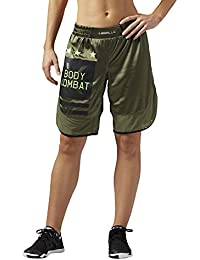 Reebok les Mills W Body Combat Short, canopy Green