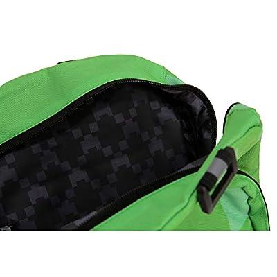 Minecraft Creeper Backpack Rucksack School Bag Large & Mini (Silver, Diamond & Creeper) - childrens-backpacks