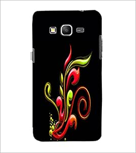 PrintDhaba Pattern D-2336 Back Case Cover for SAMSUNG GALAXY GRAND PRIME (Multi-Coloured)