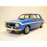 Coche Renault 12 Gordini 1971 Azul. Escala 1/18