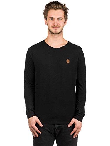 Herren Langarmshirt Naketano Italienischer Hengst Langen T-Shirt