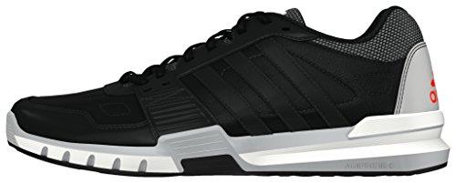 adidas - Essential Star .2, Scarpe sportive Uomo Nero (Negbas / Negbas / Rojsol)