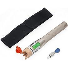 Localizador Visual de fallos, risepro® Luz Roja bolígrafo 30MV Cable de fibra óptica Cable Tester Equipo de prueba vfl-30mw