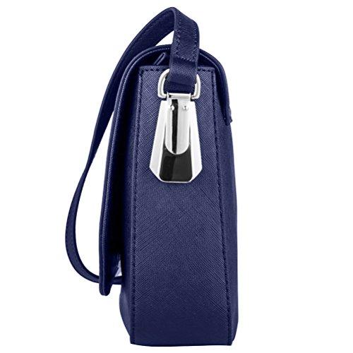 La Clé , Sac bandoulière pour femme Serenity Blue moyen bleu