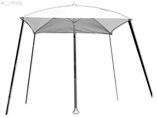 Preisvergleich Produktbild Sonnenschirm weiß - Bimini - Sonnenschutz - Sonnensegel,  Boo