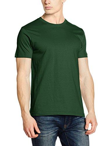Clique Herren T-Shirts New Classic Green (bottle Green)