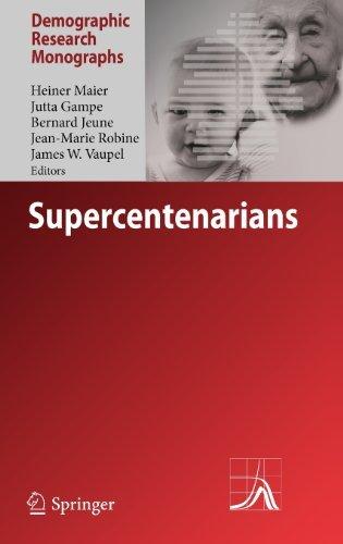 Supercentenarians (Demographic Research Monographs) (English Edition)