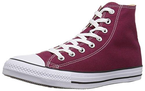 Converse Chuck Taylor All Star, Unisex-Erwachsene Hohe Sneakers, Rot (Weinrot), EU 45 EU
