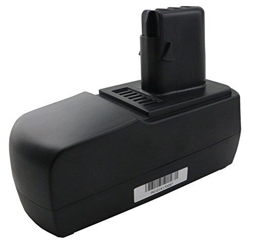 Werkzeugakku für Metabo Akkuschrauber BSZ 18, BSZ 18 Impuls, BSZ 18 Impuls Li Power, BSZ18 Impuls Li; KSAP18Li, 6.25484 mit 18V und 2500mAh