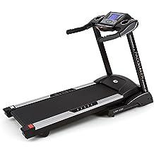 Capital Sports Pacemaker X55 cinta de correr profesional (6,5 PS, 22 km/h, inclinación ajustable, pulsómetro, AUX, altavoz, display LCD, 12 programas, entrenador digital, plegable) - negro