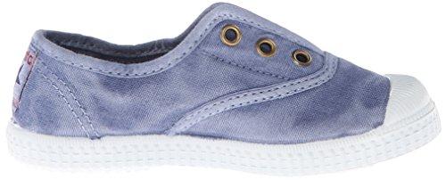 Cienta 70777 21/30 Lavender unisexe chaussures en tissu élastique Blu