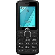 "Wiko Lubi4 - Teléfono móvil 1.77"" (Dual SIM, Radio, teclado, Bluetooth) negro"
