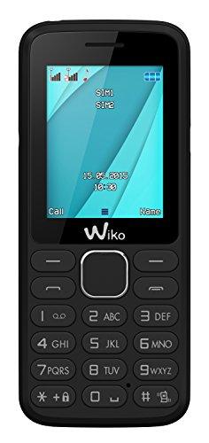 Wiko Lubi 4 Blister Téléphone portable débloqué 2G (Ecran: 1,7 pouces - 64 Mo - Double SIM) Noir