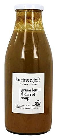 Karine & Jeff - Organic Green Lentil Carrot Soup 33.8 Fl. Oz. 180579