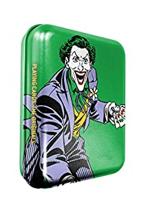 Cartamundi DC Comics The Joker - Juego de Cartas en Lata con Relieve, Metal