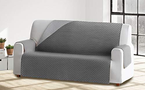 Cabetex Home - Cubre sofá Reversible Bicolor ajustes