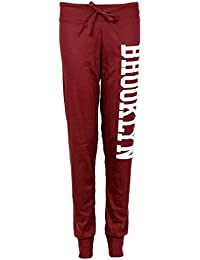 Fast Fashion - Pantalon Brooklyn Bottom D'impression De Jogging Pantalon De Piste Pleine Longueur - Femmes