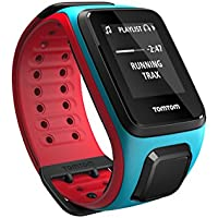 TomTom Runner2 1RFM.001.00  - Reloj deportivo, color turquesa / rojo, talla L (143-206 mm)