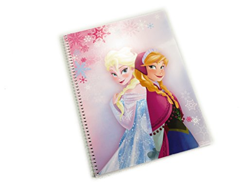 Cuaderno Libreta Escolar DIN A4 Disney Frozen
