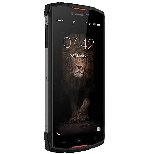 FSM88 4G-Handys, 5,5-Zoll-HD (18: 9-Vollbild), Zwei Rückfahrkameras, wasserdicht und staubdicht, 2 GB / 16 G mit Fingerabdrucksensor,Orange (Samsung Entsperrt Handys 4g)