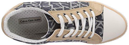 Calvin Klein Jeans Vero, Damen Sneaker Mehrfarbig (MIDNIGHT/NATURAL)