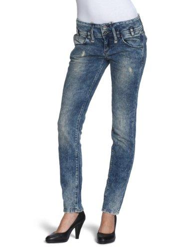 Fornarina femme textile bIR1B89D542NC jeanshosen/long) (tube skinny Bleu - Bleu