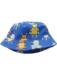 c190c95cb Minetom Bebé Niño Verano Otoño Dinosaurio Cangrejos Robots De Bucket  Sombrero Para El Sol Verano Viaje