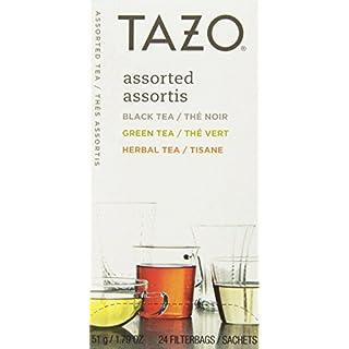Assorted Tea Bags, Three Each Flavor, 24 Tea Bags/Box