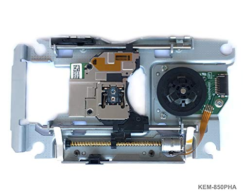PS3 Blu-ray Laser mit Schiene KEM-850PHA - Replacement Ersatz Laufwerk DVD Laser Lens Rahmen/Schlitten und KES-850A Deck, Torx Security Schraubendreher für Playstation 3 Slim CECH-40xxA/B/C -
