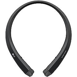 LG HBS-910 Banda para cuello Binaurale Bluetooth Negro - Auriculares (Binaurale, Banda para cuello, Negro, Bluetooth, Universal, Bluetooth)